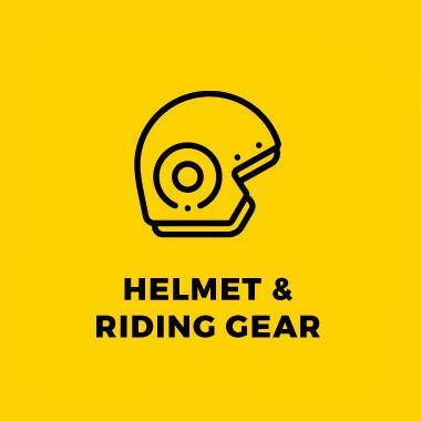 Helmet & Riding Gear