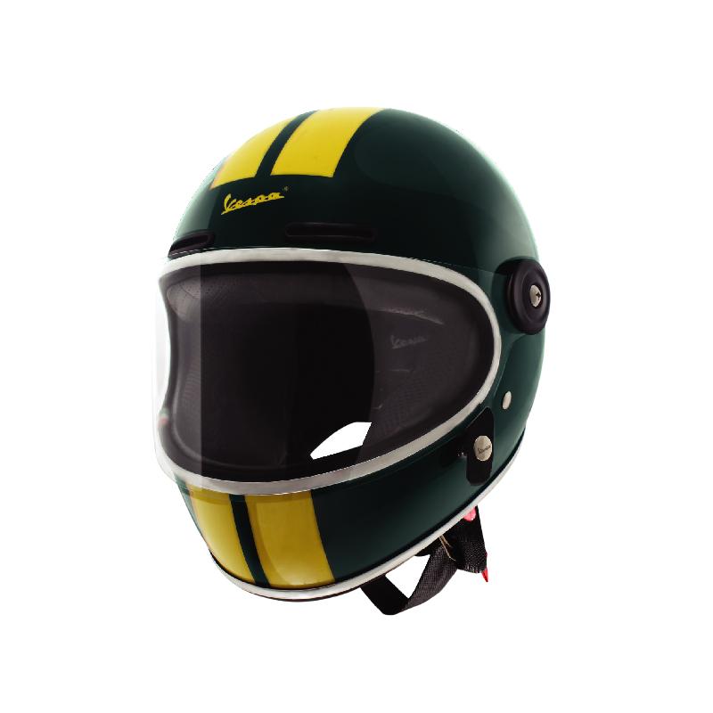 Vespa Racing Sixties Helmet Green Bosco