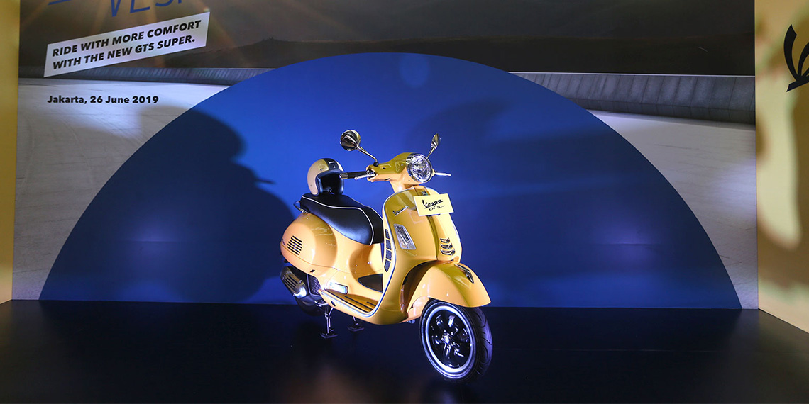 PT Piaggio Indonesia Announces the Arrival of New Vespa GTS Super 150 i-get ABS