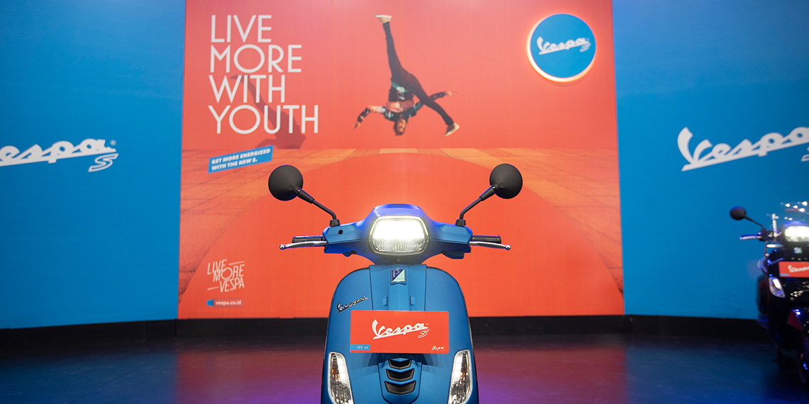 The Younger, Fresher, and Sportier Look of The New Vespa S 125 i-get