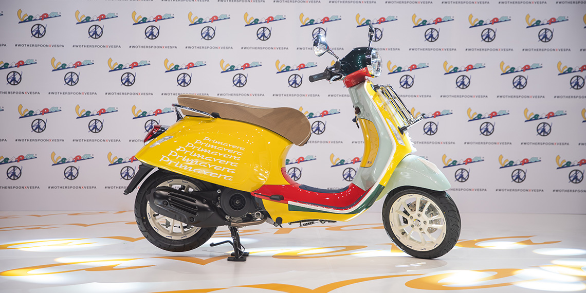 PT Piaggio Indonesia Launches  the Vespa Primavera Sean Wotherspoon Limited Edition— a Perfect Interpretation of Italian Heritage, Fashion, and Mixture of Colours