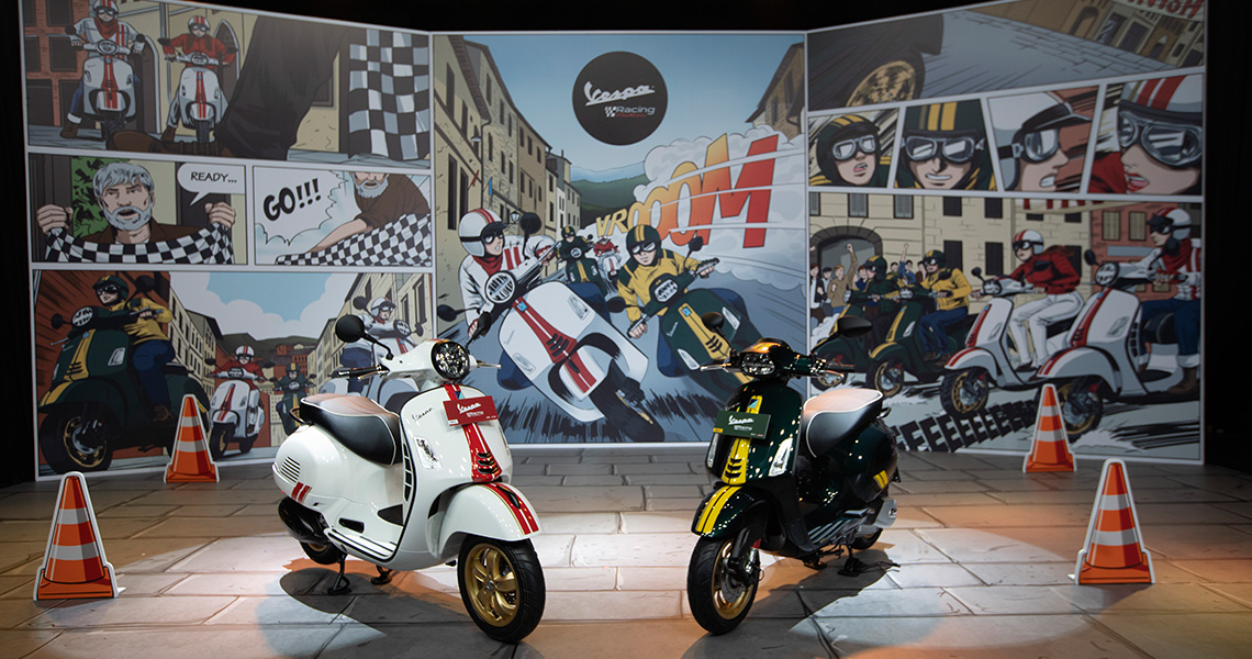 A New League of Excitement, PT Piaggio Indonesia Introduces the Ultimate Sporty Elegance the Vespa Racing Sixties Limited Edition