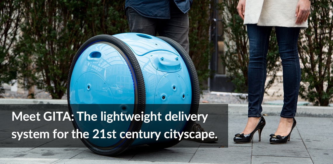 Meet GITA: The Lightweight Delivery system for the 21st century cityscape.