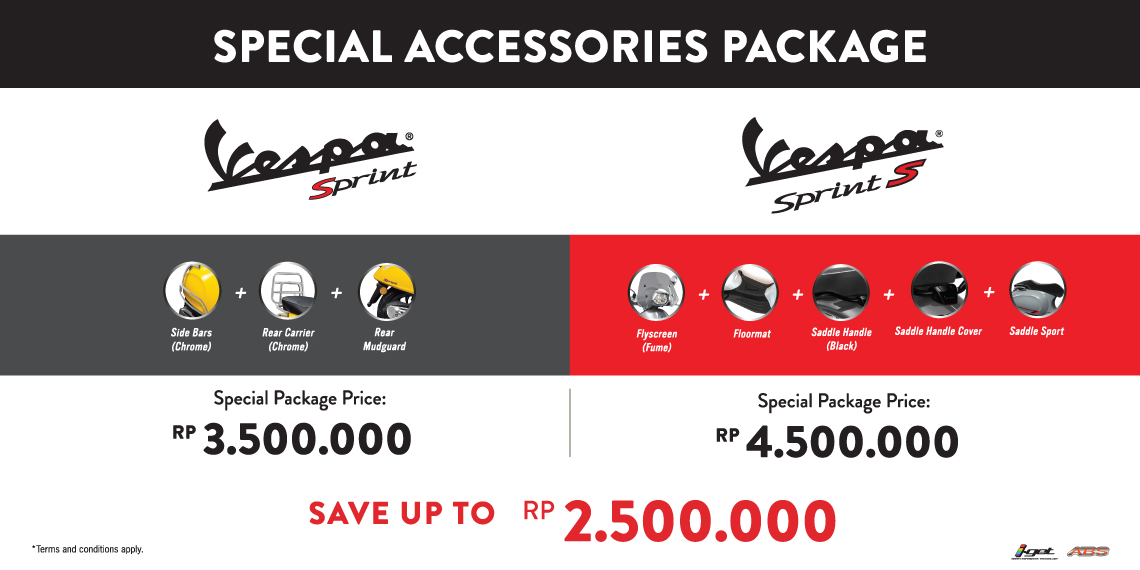 Special Accessories Package Sprint
